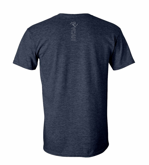 Vycah Short Sleeve Tee - Heather Navy