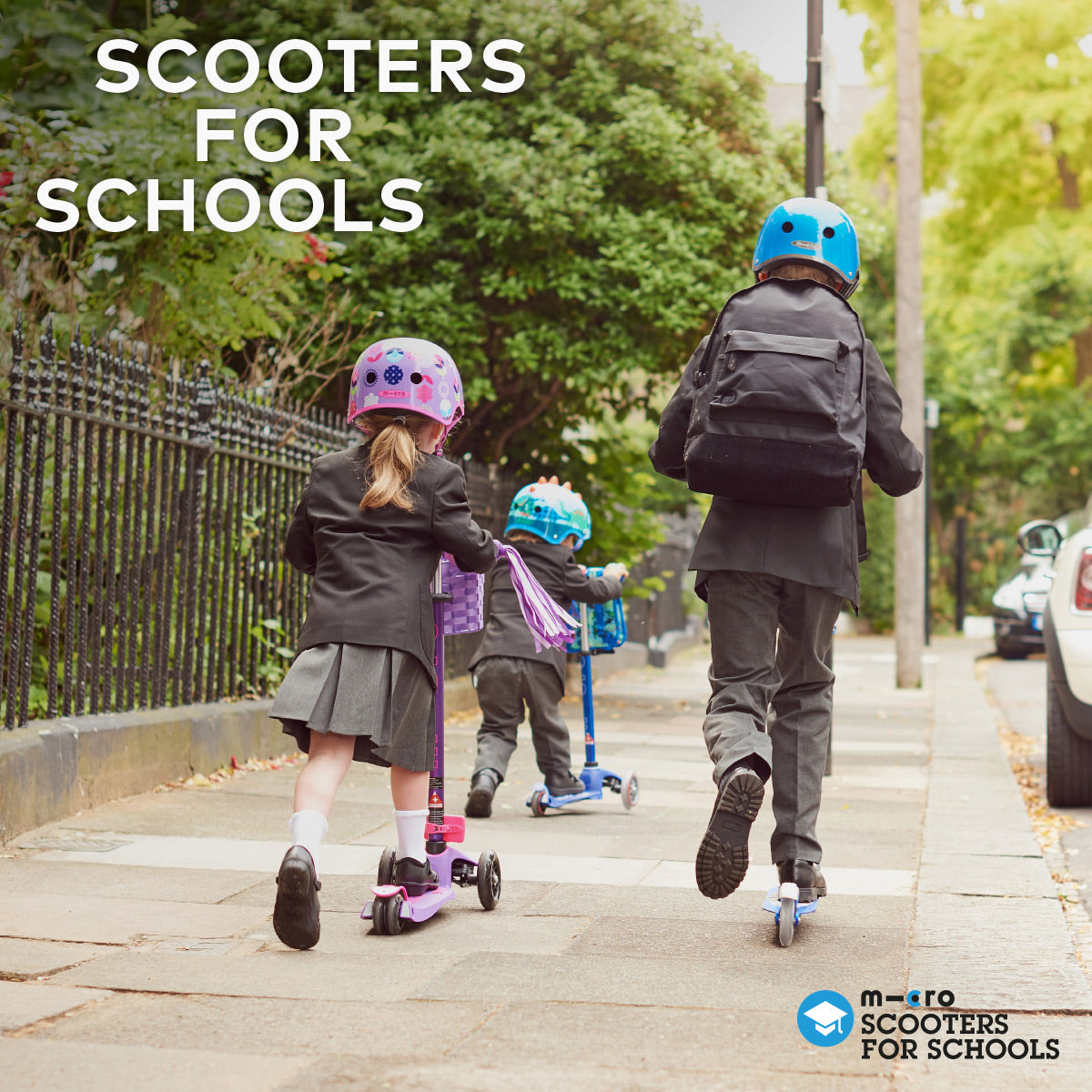MICRO SCOOTERS FOR SCHOOLS