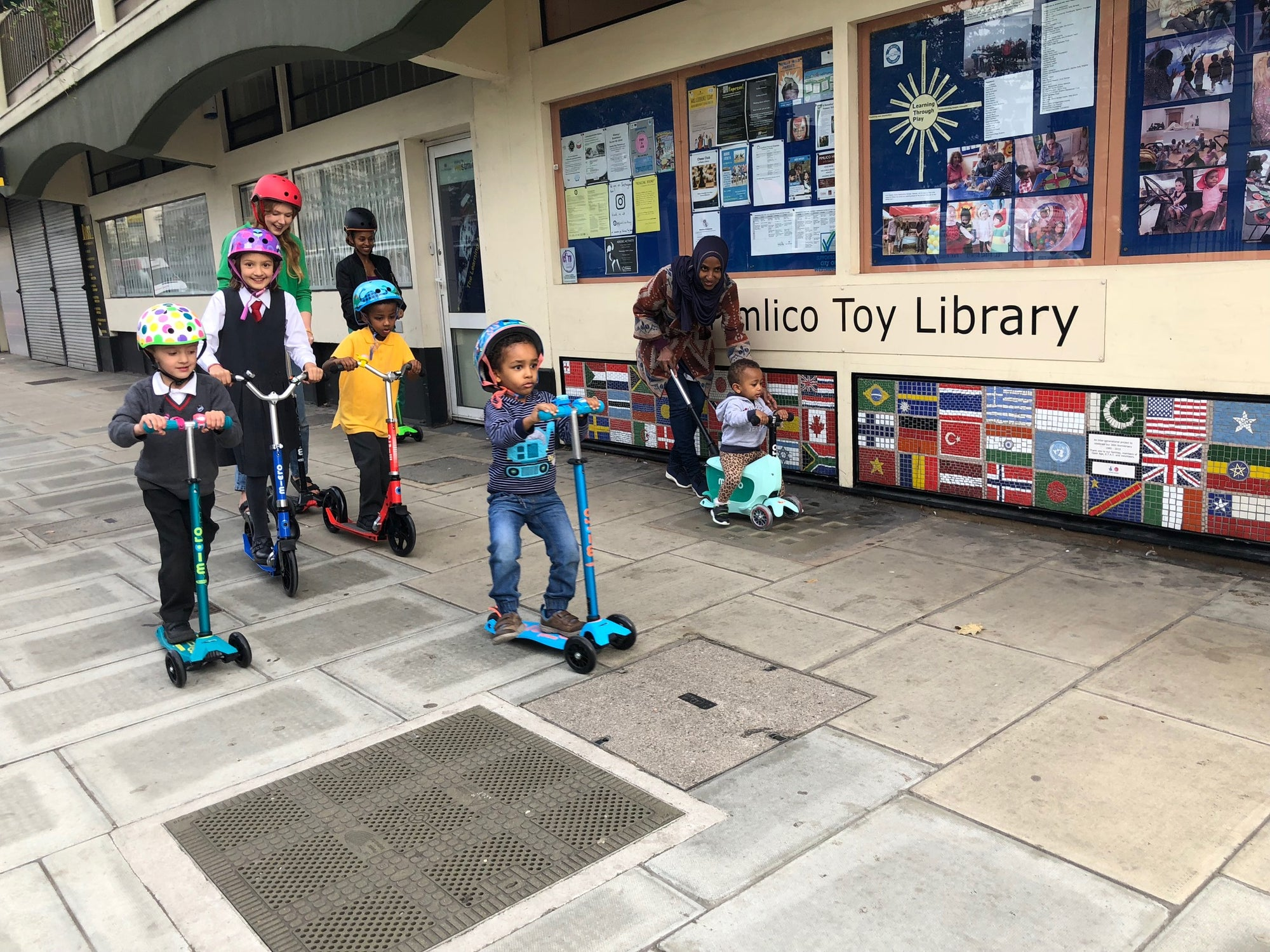 Scooter Aid & Pimlico Toy Library
