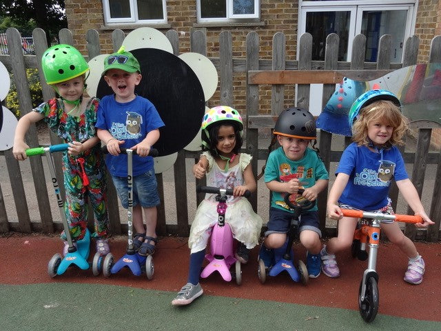 Helping charities through Scooter Aid: Owl Pre-School
