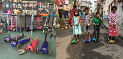 Scooter Aid 2014 Before and After
