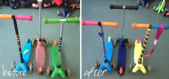 Before & After - Scooter Aid