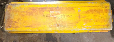 MISSILE MILITARY INTERFACE WEAPON CONTROL PANEL CASE YELLOW SINGLE UNIT