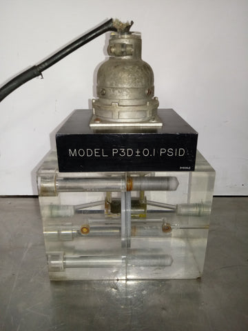 MODEL P3D LABORATORY PIN CONNECTOR TRANSPARENT TEST BOX SINGLE UNIT