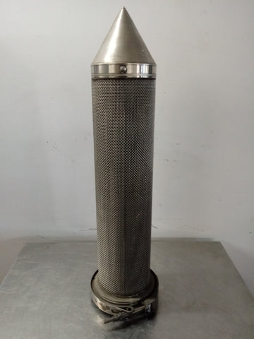 SPACESHIP AEROSPACE LABORATORY FILTER ELEMENT SILVER STAINLESS STEEL SINGLE UNIT