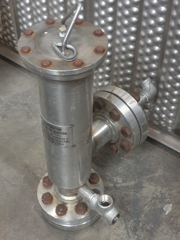 AEROSPACE LABORATORY INDUSTRIAL FILTER ELEMENT STAINLESS STEEL SINGLE UNIT