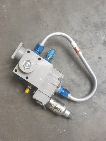 AEROSPACE ROCKET COMPONENT PIPE SOLENOID VALVE SINGLE UNIT