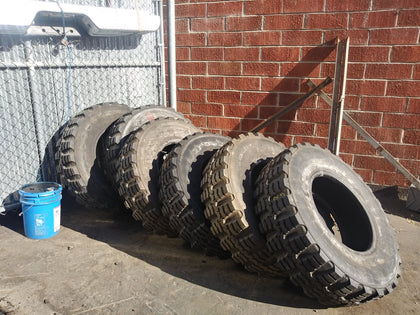 MEDIUM 40 INCH CROSSFIT WORKOUT MILITARY CONSTRUCTION TIRES BLACK SINGLE UNIT