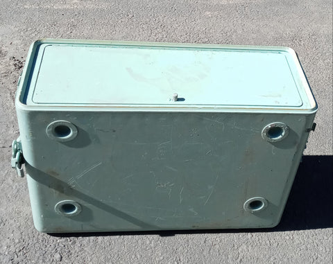 TEAL MEDIUM CARGO CONTAINER CASE BOX AMMO MEDICAL SUPPORT MILITARY ARMY USMC SINGLE UNIT