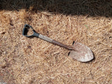 INDUSTRIAL RUSTY SHOVEL SINGLE UNIT