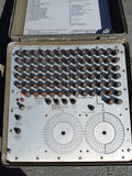 CONTAINER MILITARY LABORATORY TEST PANEL CASE SINGLE UNIT