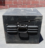BLACK CASE CONTAINER ELECTRICAL PANEL SINGLE UNIT