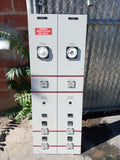 GREY INDUSTRIAL LAB PANEL MULTI KNOB GAUGE CONTROL WIRE SINGLE UNIT