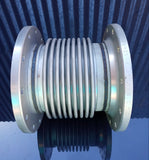 STAINLESS PIPE RIBBED BELLOW BOLT DOUBLE FLANGE SINGLE UNIT
