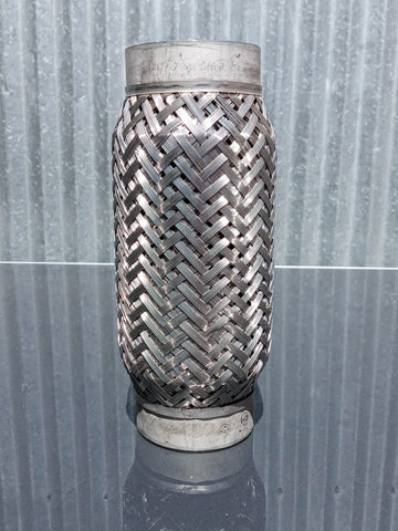 STAINLESS PIPE BRAIDED BELLOW SINGLE UNIT