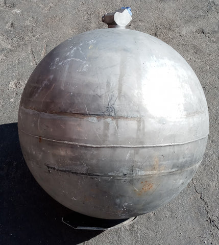 AEROSPACE ALIEN SCI-FI BALL SPHERE TANK GREY SINGLE UNIT