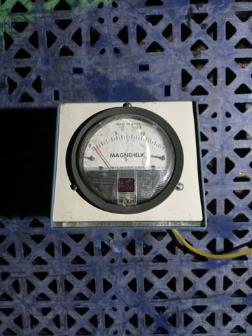 INDUSTRIAL LAB ELECTRIC CONTROL PANEL GAUGE METER SINGLE UNIT