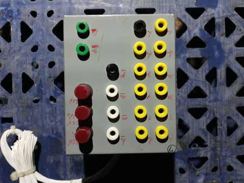 INDUSTRIAL LAB ELECTRIC CONTROL PANEL SINGLE UNIT