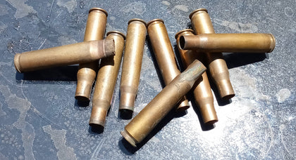 EXPELLED BRASS SHELLS TELL US WHAT SIZE CALIBER AND QUANTITY YOU NEED SINGLE UNIT