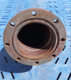 INDUSTRIAL FLANGE TUBE PIPE RED SINGLE UNIT