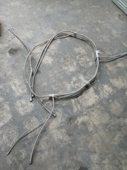 STAINLESS MOUNTABLE CABLES MOUNTABLE HOSES SINGLE UNIT