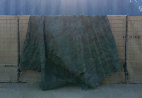 MILITARY CAMOFLAUGE TARPS BASES CAMPS POSTS