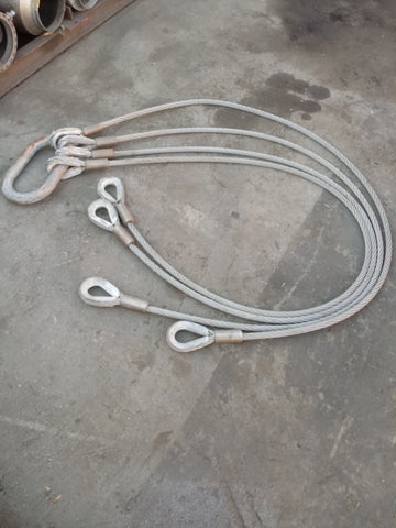 HEAVY DUTY INDUSTRIAL CHAINS CABLE SINGLE UNIT