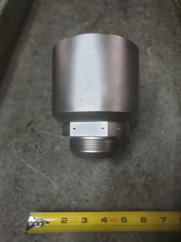 STAINLESS STEEL COUPLING EXPANDER AEROSPACE ROCKET ENGINEERING COMPONENT SINGLE UNIT
