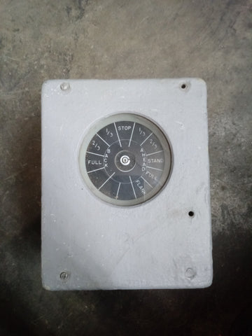FULL STOP AHEAD EXPLOSION PROOF PRESSURE GAUGE BOX SINGLE UNIT