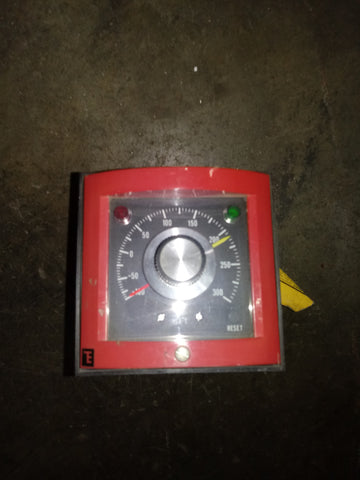 THERMO ELECTRIC KNOB METER RED SINGLE UNIT
