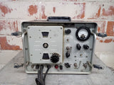 INDUSTRIAL MILITARY NAVY DEPARTMENT - BUREAU OF SHOPS SG-111/URM-25E GAUGE MEGACYCLES CONTROL BOX KNOB PANEL GREY SINGLE UNIT