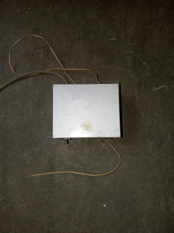 ELECTRICAL INDUSTRIAL SWITCH BOX SINGLE UNIT