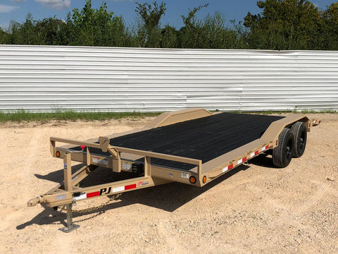 TRANSPORT CARGO TRAILER VEHICLE MILITARY CONSTRUCTION EQUIPMENT TANDEM BLACK