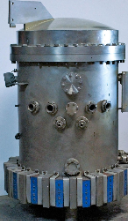 AEROSPACE VACUUM LABORATORY SUPER PRESSURE TEST TANK SILVER SINGLE UNIT