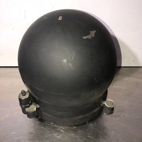 TITANIUM FUEL AEROSPACE STORAGE TANK BLACK  SINGLE UNIT