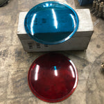 INDUSTRIAL ALARM SIGNAL BLUE LENSE SINGLE UNIT