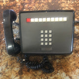 BLACK MULTIPLE LINE TELEPHONE PHONE SINGLE UNIT