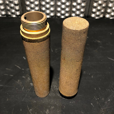 BRASS FILTER ELEMENT CONE CYLINDER GOLD SINGLE UNIT