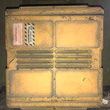 AMMUNITION CASE BOX YELLOW SINGLE UNIT