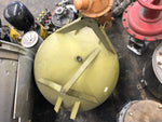 SPACE MILITARY FUEL RESERVOIR BALL SPHERE TANK GREEN SINGLE UNIT