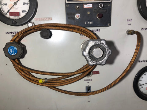 INDUSTRIAL AEROSPACE CABLE FLEX HOSES COPPER SINGLE UNIT