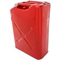 NEW JERRY CAN 5 GALLON FUEL GAS TANK SINGLE UNIT
