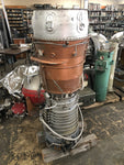 JET ENGINE ROCKET WMD ICBM MISSILE WEAPON PROJECTILE ENGINE BOMB COPPER SILVER SINGLE UNIT