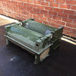 MILITARY GREEN OLIVE CARGO CRATE CASE WEAPON PROJECTILE BOMB MISSILE WEAPON HELICOPTER HUB SINGLE UNIT