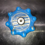 CIRCLE SEAL BRASS INDUSTRIAL HANDLE REGULATOR BLUE SINGLE UNIT