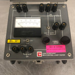 CONTROL LOOP TESTER GREY DC ELECTRICAL MILLIAMPERES LABORATORY VOLT KNOB METER PANEL GREY SINGLE UNIT