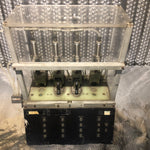 PNEUMATIC PISTON AEROSPACE LABORATORY TRANSPARENT BLACK TEST STAND SINGLE UNIT