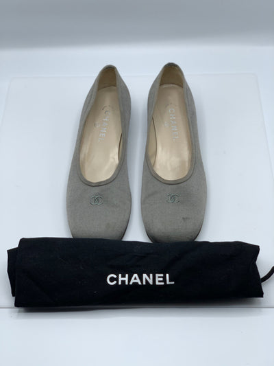 Chanel Flat Pump Sz 40