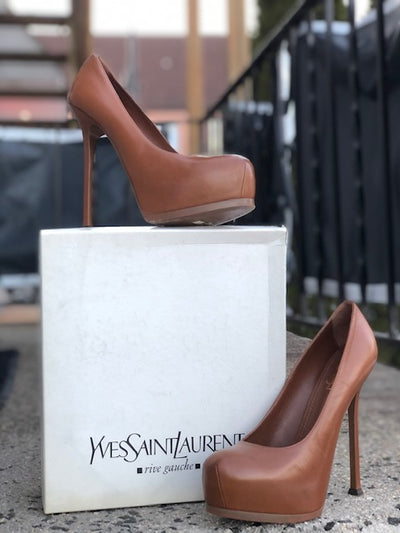Yves Sant Laurent Tribute Too Pump Sz 41