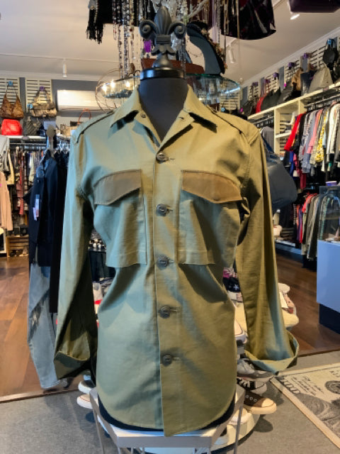 Hartly - Rag & Bone Military Style Shirt Small